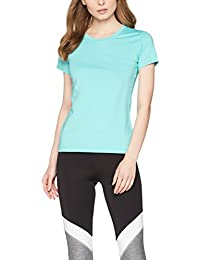 Iris & Lilly Women's Mesh Back Sports Shirt