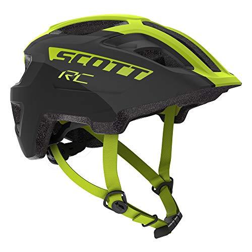 Scott Spunto JR Plus Kinder Fahrrad Helm Gr. 50-56cm schwarz/gelb 2019