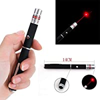 Red Laser Pointer Pen,10Miles 650 Grade Visible Light Beam 14cm suit for meeting