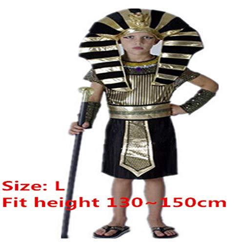 Boy Kostüm Ägyptische - NiQiShangMao Ägypten Pharao Kostüme Für Halloween Party Erwachsene Kleidung Ägyptischen König Männer Purim Kostüm