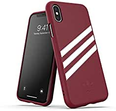 reputable site 433ac 7619e adidas Originals Funda iPhone X XS PU Molded - Colleagiate Burgundy