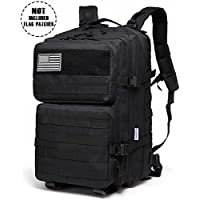 Songwin Multifunction Military Tactical Backpack,45L Large Army Assault Pack Molle Bug Out Bag Backpacks Rucksack Daypack for Camping Hiking and Trekking.