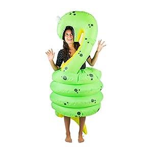 Bodysocks® Disfraz Hinchable de Serpiente Adulto