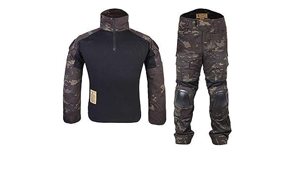 Homme Tenues de Combat Chasse Unifome Militaire Gen2 Tactique Uniforme  Multicam Black  Amazon.fr  Vêtements et accessoires d351ace4155