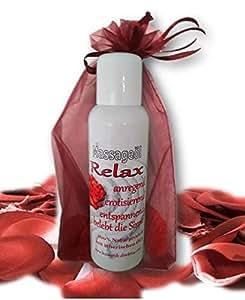 Massageöl Relax sinnlich anregende erotisierende Wirkung