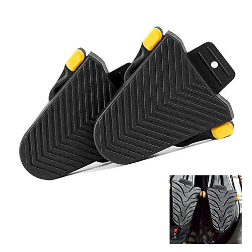 CWeep Bike Cycling Shoe Cleat Covers,Road Bicycle/Indoor Cycling Cleat Set for Shimano SPD-SL Pedal Cleat Systems Cover 1Pair(Black) Shimano