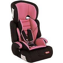 Piku NI20.6072 - Silla de coche, grupos 1/2/3 (9-36 kg, 1-12 años), color rosa claro