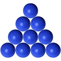 Strengthshop Pelotas de Lacrosse en numérico de Juego, 69mm de diámetro, Color Azul