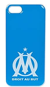 Coque OM - Smartphone Apple - Iphone 4 et 4S - Collection officielle OLYMPIQUE DE MARSEILLE - Football Ligue 1