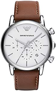Emporio Armani Men's Chronograph Dress Watch With Quartz Move