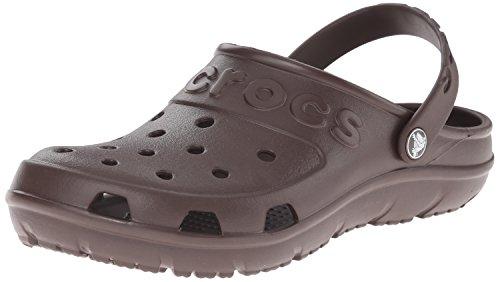 crocs Crocs Hilo Clog Mahogany, Unisex-Erwachsene Clogs, 38/39 EU, Braun (Brown 2K8)