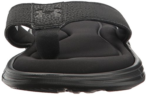 uomo Sandals ArmourMens Under Ignite Black Metallic Silver da Ii Ignite II qn0dWXPrd