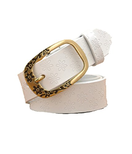 In vera pelle cintura donna Vintage Pin fibbia cinture per