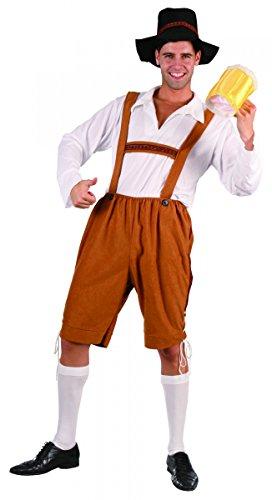 Disfraz de bávaro beerman hombre M