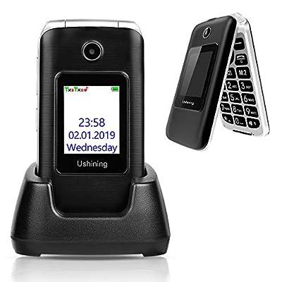 3G Senior Flip Unlocked SIM Free Mobile Phone