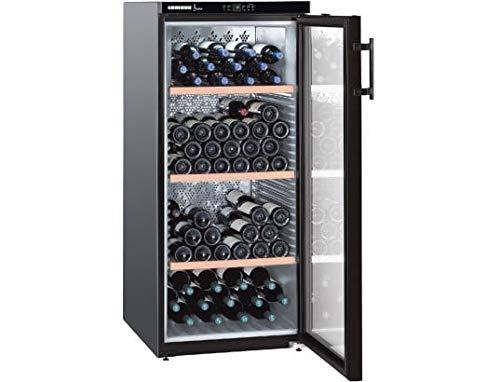 Liebherr WKB 3212 - refroidisseurs à vin (Autonome, Noir, 5-20 °C, Noir, SN, ST, A)