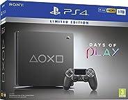Sony PlayStation 4 1TB Console (Grey) - Days of Play Limited Edition - UAE Version