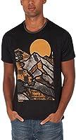 Bench Herren Langarmshirt T-Shirt Mountain Lines