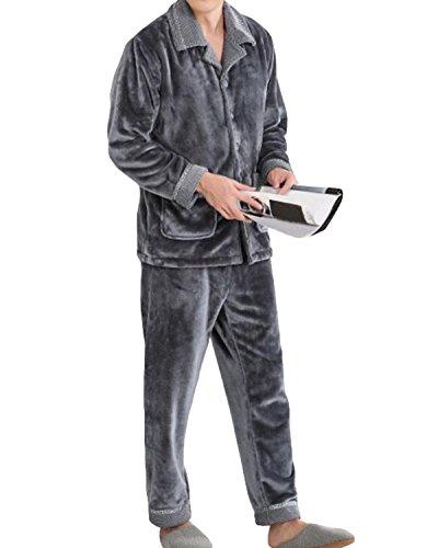 Conjunto De Pijamas Para Hombre Otoño E Invierno