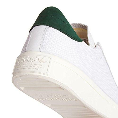 adidas Court Vantage White White Green Multicolore