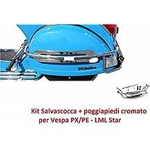 a50f5c095c SALVASCOCCA POSTERIORE cromato per vespa PX // LML star 125/150/151/