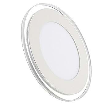 CroLED® 20W LED Lampe Plafonnier Lumière Chaud/Blanc 3 Modes AC 220V Rond Ultra-mince