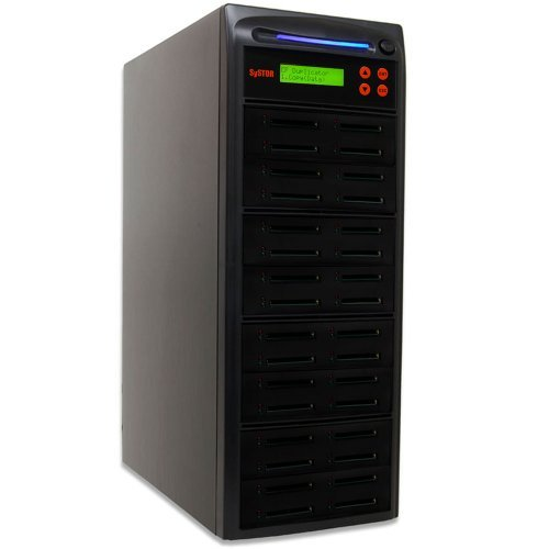 Systor 1 bis 31 Multiple Compact Flash Card / CF -Speicher-Laufwerk Duplicator Kopierer - Flash Card Twin Pack