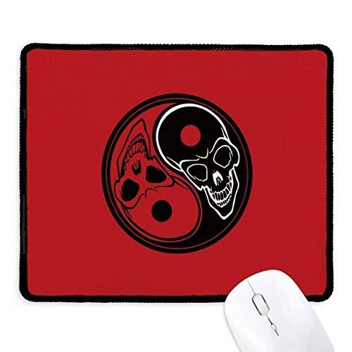 beatChong Geist China Taichi Acht Diagramm Griffige Mousepad Spiel Büro Schwarz genähte Kanten Geschenk (Architektur-diagrammen)