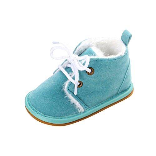 WOCACHI-Baby-Kleinkind-Suglings-Schnee-Stiefel-Schuhe-Gummisohle-Prewalker-Krippe-Schuhe-Krabbelschuhe-12-Himmelblau