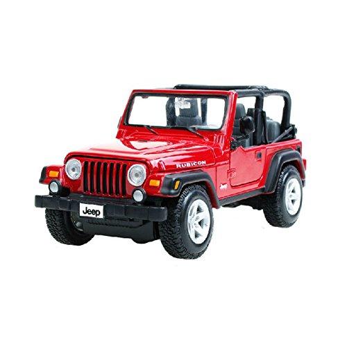 Blancho 1:27 Die Cast Auto-Modell-Legierung Auto-Modell-SUV-Auto-Spielzeug (rot)