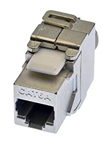 RJ 45 Module de connexion Keystone Cat.6a FTP 500 MHz 10 gigabits