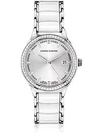 Chrono Diamond Reloj con movimiento cuarzo suizo Woman 10410E Thyrsa