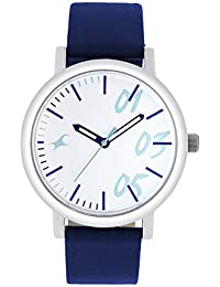 Fastrack Tropical Waters Analog White Dial Women's Watch-68010SL05