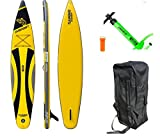 DVSport SUP THUNDER 380 x 71 x 15 cm Inflatable Isup aufblasbar Stand Up Paddle Board Set Pumpe Surfboard Aqua