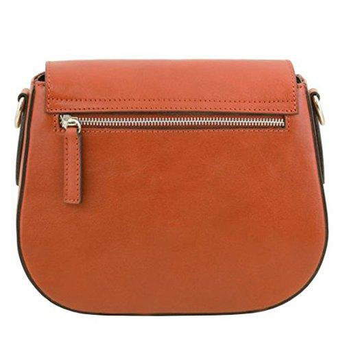 Tuscany Leather TL Neoclassic - Borsa a tracolla in pelle - TL141517 (Nero) Miele