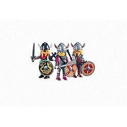 Playmobil (7677) - 3 guerreros vikingos
