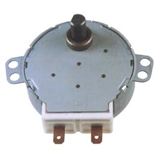 recambioss Engine giraplato Microwave Universal. 5/6RPM. 220V AC 1chafan. Axis Short.