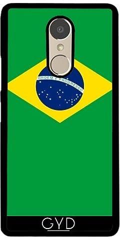 Hülle für Lenovo K6 Note - Flagge Von Brasilien by BruceStanfieldArtist