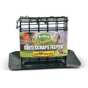 Supa Suet Block Feeder With Tray by Supa