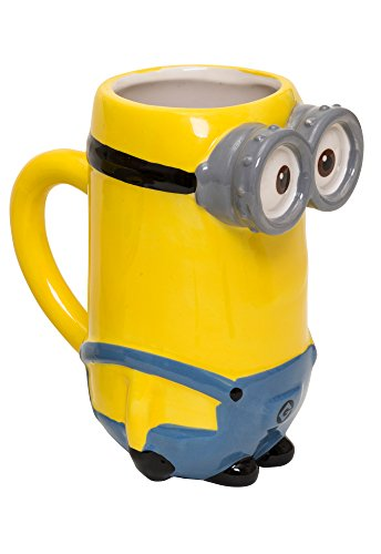 Despicable Me - Minions 90925 Minions Kevin 3D Tasse in Keramik in Geschenkverpackung, 8.7 x 13.4 x 14.5 cm