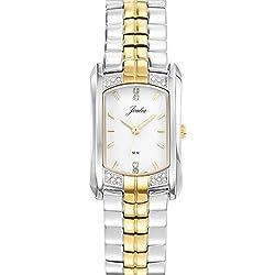 Joalia 634566-Ladies Watch-Analogue Quartz-White Dial-Two-Tone Metal Bracelet