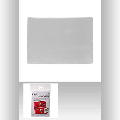Set de 3 Cadre Photo Magnetique 13 x 18 - Déco Maison Frigo - 517