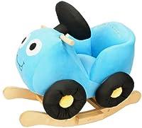 Knorr-baby 60017 - Schaukelfahrzeug, Töff Töff, blau
