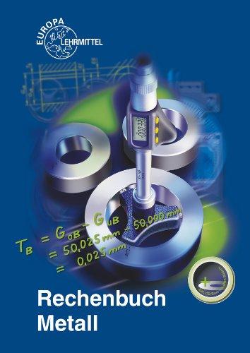 Buchseite und Rezensionen zu 'Rechenbuch Metall: Lehr- und Übungsbuch' von Josef Dillinger