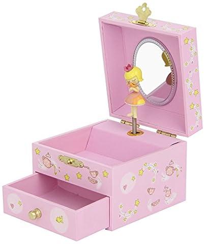 Boite Bijoux Fille - Trousselier - Princesse - Petit Coffret Musical