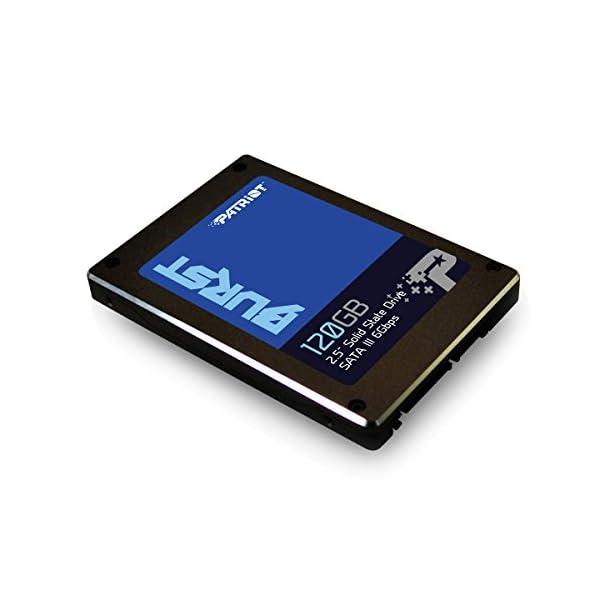 Patriot Burst High Performance 120GB 6,3cm Solid State Drive, SSD, pbu120gs25ssdr