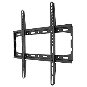 """AlexVyan New Imported Fixed TV Wall Mount Bracket for 32"""" to 55"""" Flat Panel For LCD / LED / OLED Plasma - Strong Built with Premium Finishing - Load Capacity 50KG - (200*200 to 400*400 MM Vesa) For TV of Sony LG Samsung Micromax Lloyd Panasonic Bravia Phillips Yu Hier Videocon and Others"""