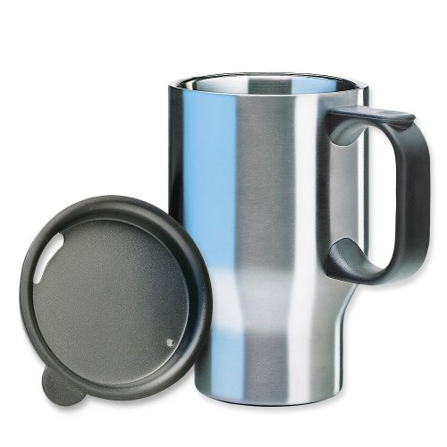 Isosteel VA-9558 - Taza térmica (pared doble de...