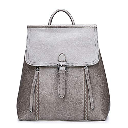 TnXan Backpack Trekking Rucksacks Casual Daypacks 2019 Fashion Women Backpacks Vintage School Bags for Girls PU Leather Backpack Mochilas Mujer Sac A DOS