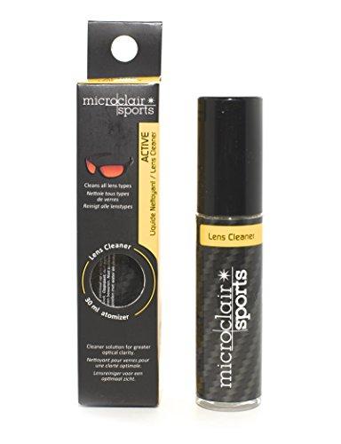 Detergente OCCHIALI DA SOLE Microclair Sports/Lens Cleaner Microclair Sports/Occhiali da sole SPORTIVI/Sport-Ciclismo-Sci-Driving-Moto-Arrampicata-Basket-Tennis/30 ml/090008